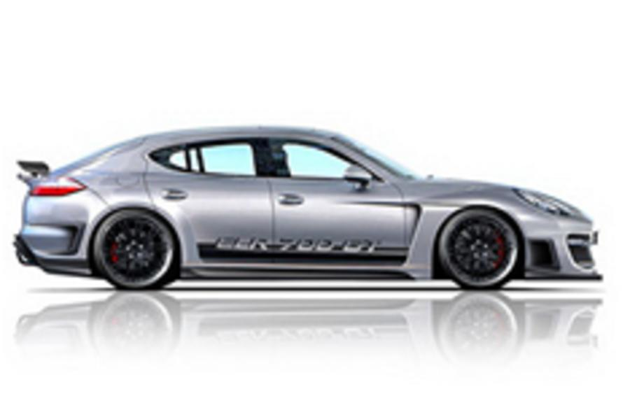 Tuned Porsche Panamera
