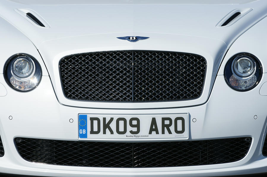 Bentley Continental Supersports front grille
