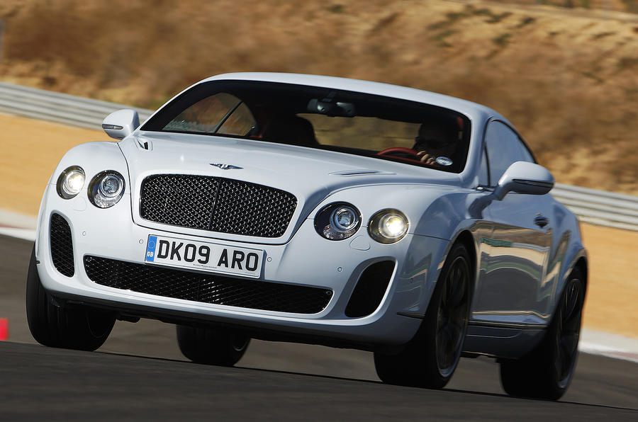 Bentley Continental Supersports on the road