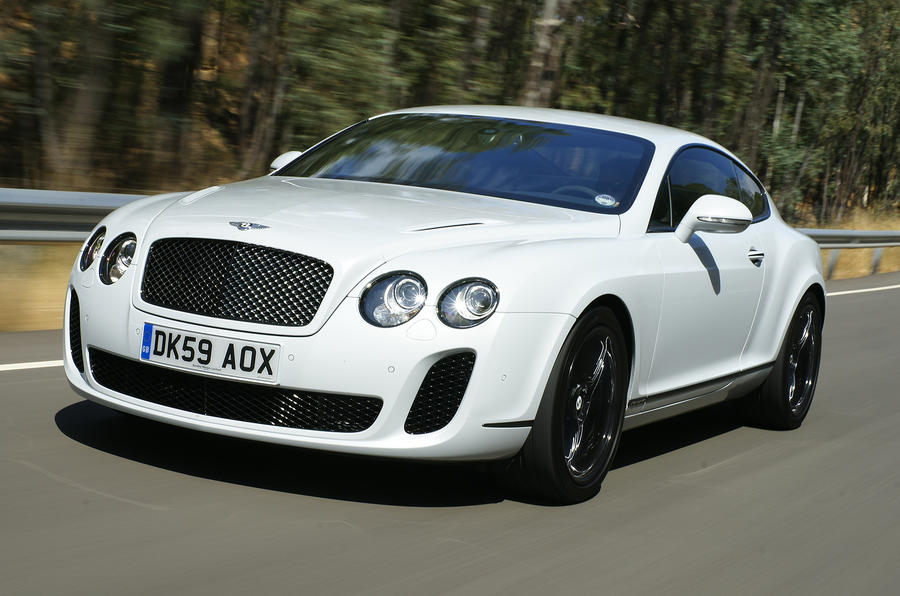 Bentley Continental Supersports front quarter