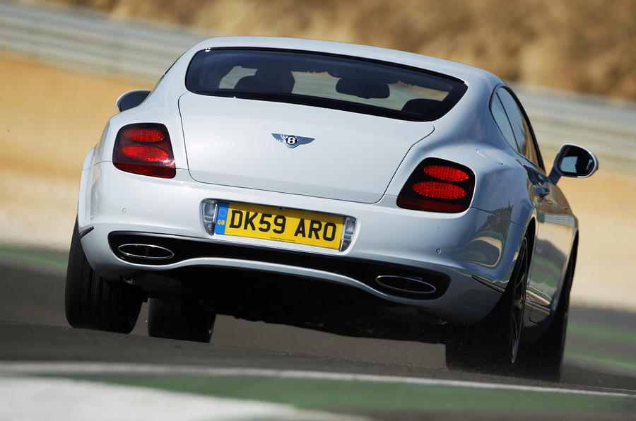 Bentley Continental Supersports rear end