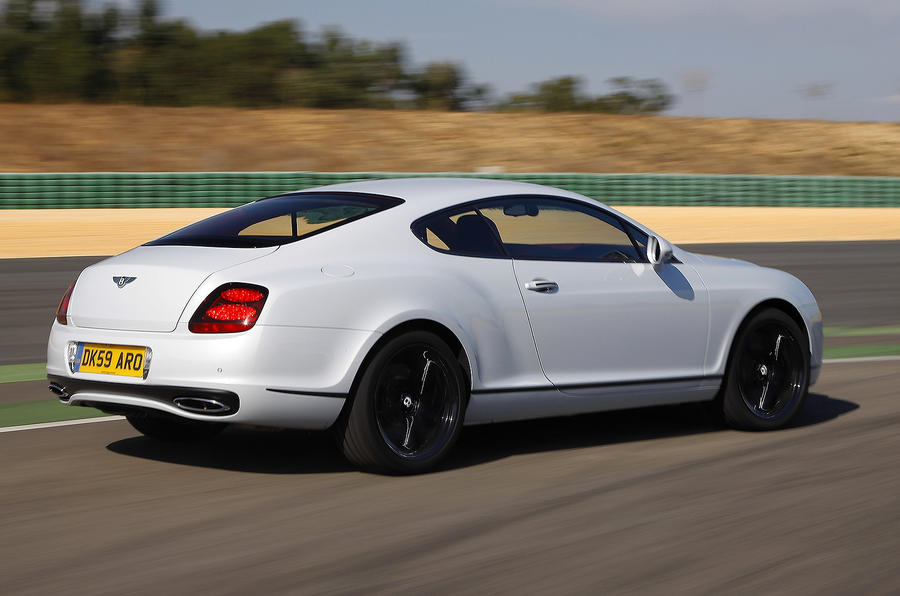 Bentley Continental Supersports rear quarter