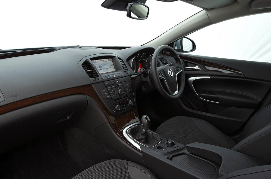 Vauxhall Insignia interior