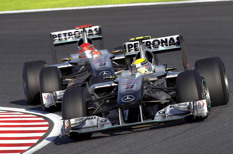 Merc defends F1 performances