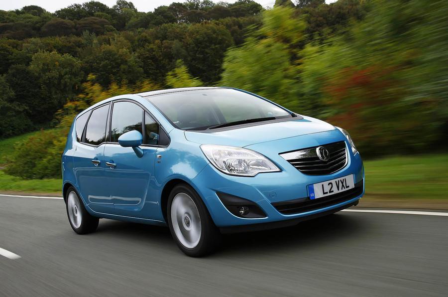 Vauxhall Meriva 1.7 CDTi SE