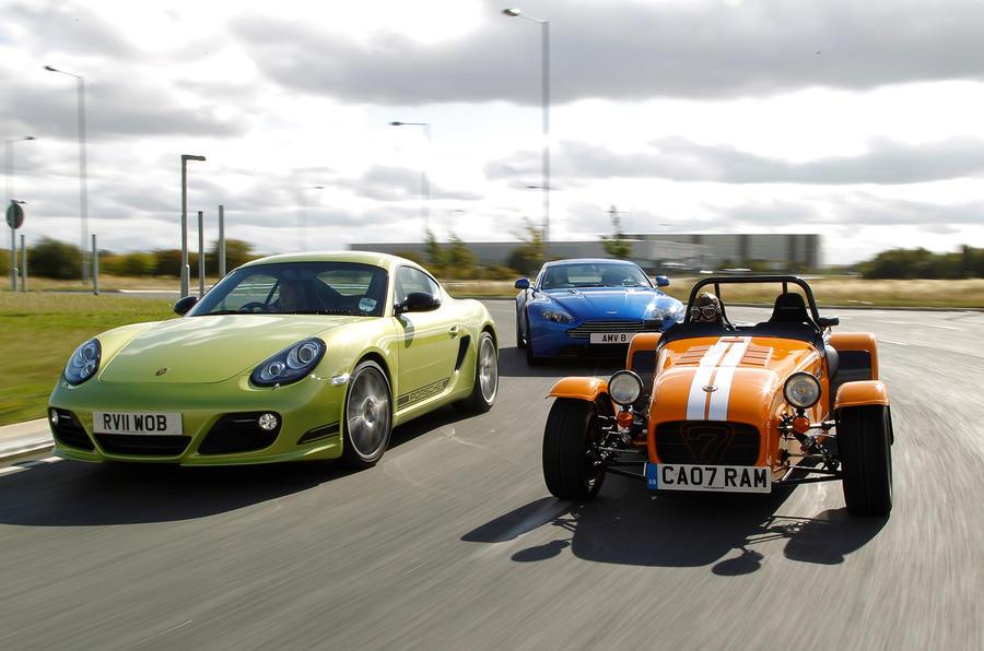 Cayman R is UK's Best Driver's Car