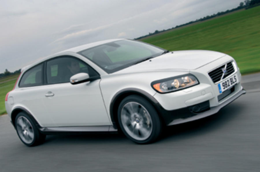 volvo c30 t5 r design review autocar. Black Bedroom Furniture Sets. Home Design Ideas