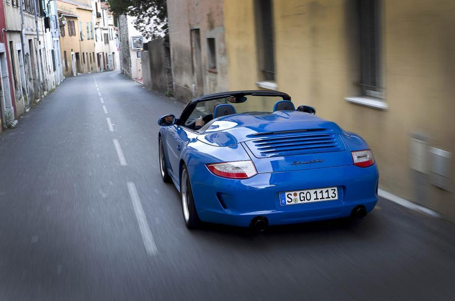 Porsche 911 Speedster rear