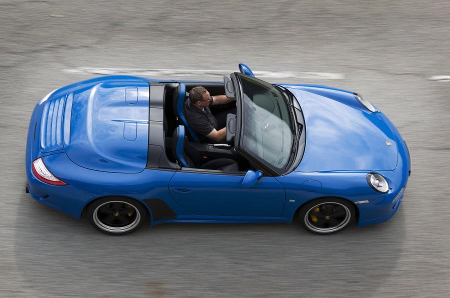 The 402bhp Porsche 911 Speedster