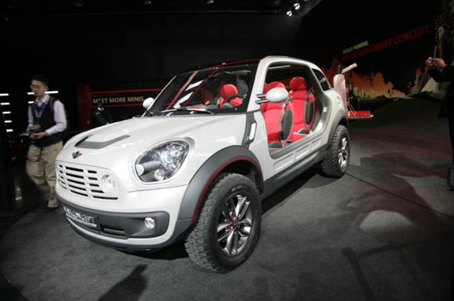 Detroit motor show: Mini Beachcomber