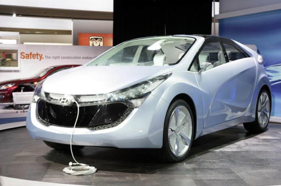 Detroit motor show: Hyundai Blue-Will