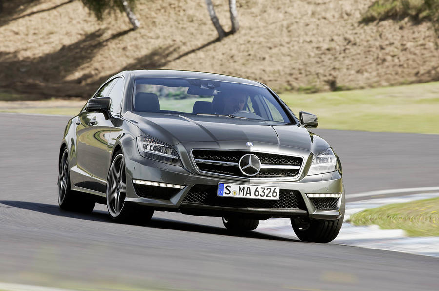 Mercedes-AMG CLS 63 cornering