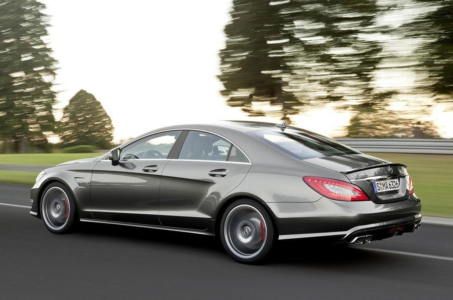 Mercedes-AMG CLS 63 rear