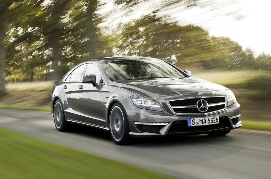 155mph Mercedes-AMG CLS 63