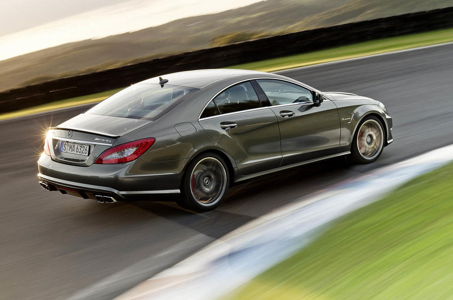 Mercedes-AMG CLS 63 rear cornering