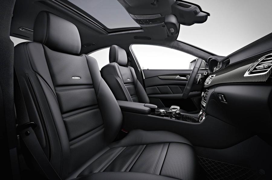 Mercedes-AMG CLS 63 front seats
