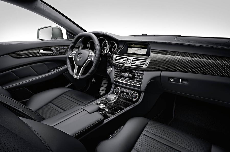 Mercedes-AMG CLS 63 interior