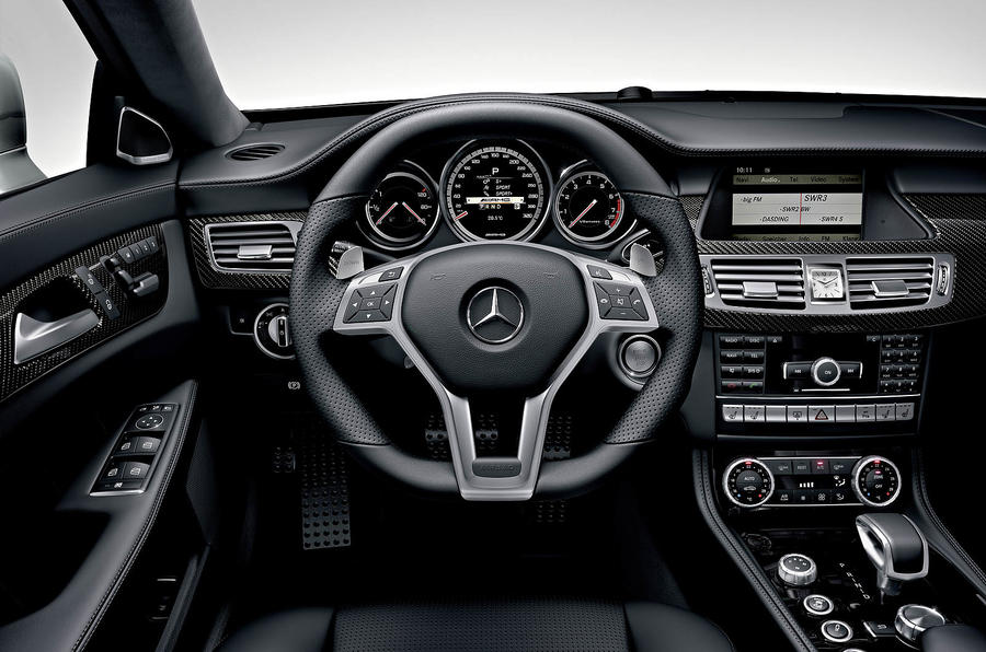 Mercedes-AMG CLS 63 dashboard