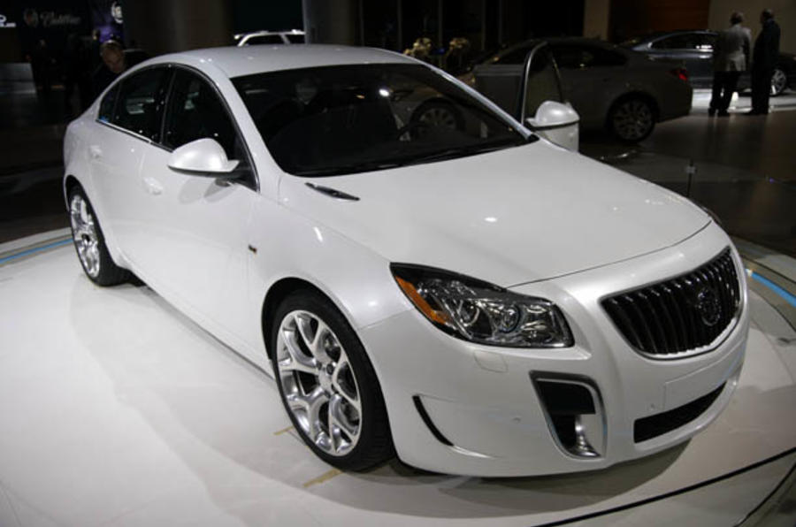 Detroit motor show: Buick Regal GS