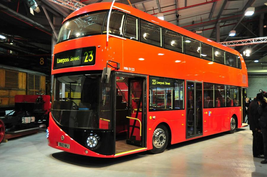 London's new bus unveiled