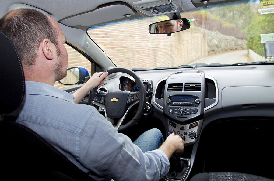 Driving the Chevrolet Aveo