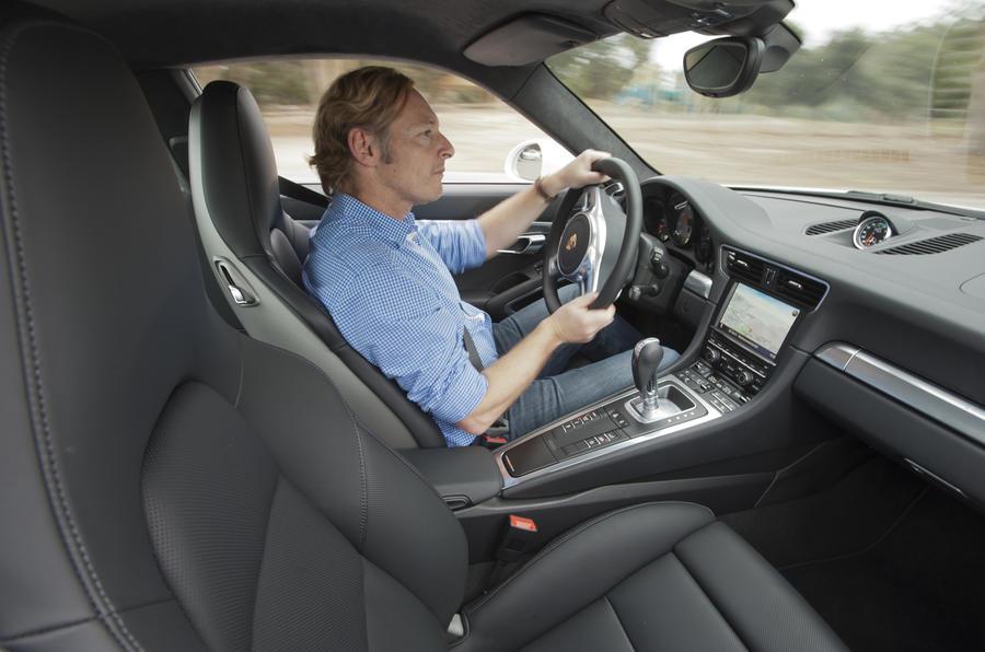 Driving the Porsche 911 Carrera S