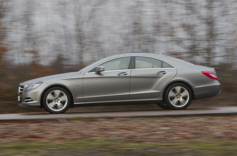 Mercedes-Benz CLS 350 CDI side profile