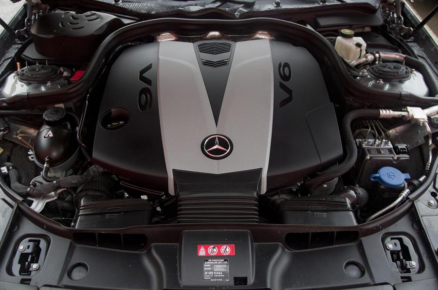 3.0-litre V6 Mercedes-Benz CLS 350 CDI engine