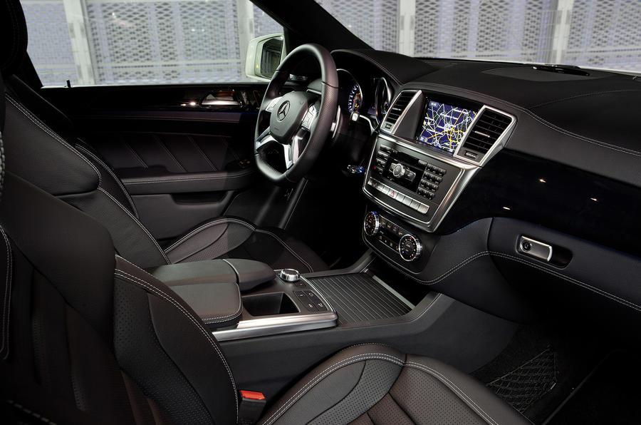 Mercedes-AMG ML 63 interior