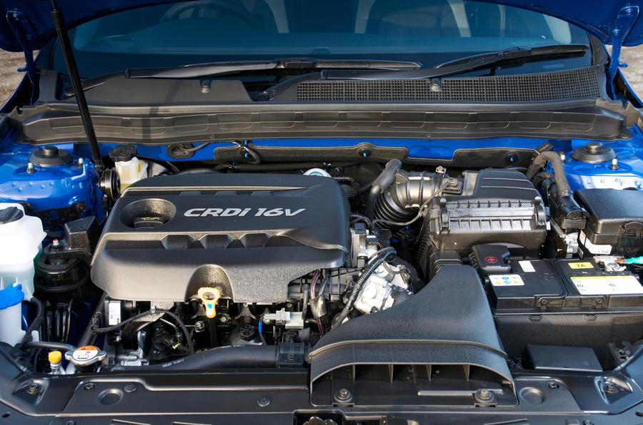 1.7-litre Kia Optima diesel engine