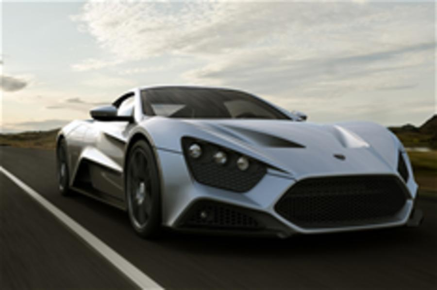 New 1100bhp supercar for UK