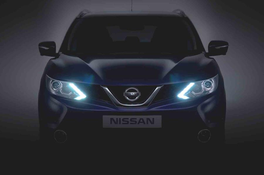 Next-gen Nissan Qashqai previewed - latest pictures
