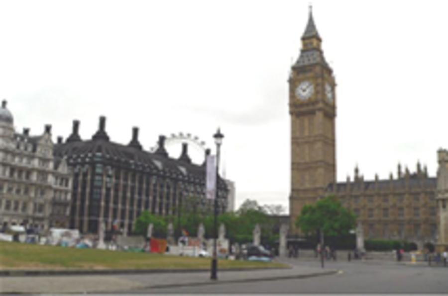 Hauliers to storm Parliament Square