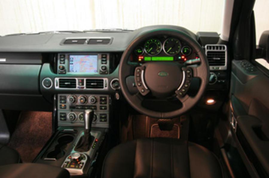 range rover tdv8 2007 review autocar. Black Bedroom Furniture Sets. Home Design Ideas