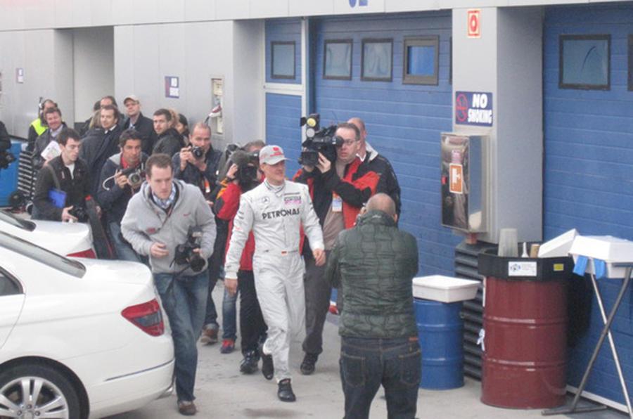 Kobayashi tops Jerez test