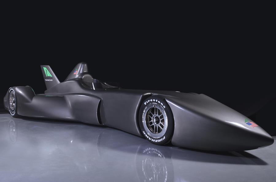 DeltaWing's radical racer concept