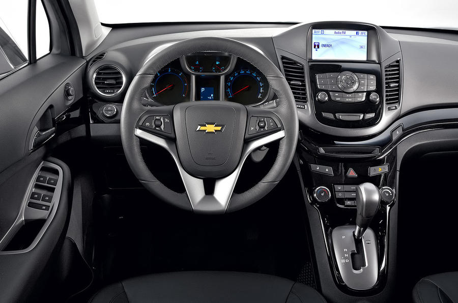 Chevrolet Orlando dashboard