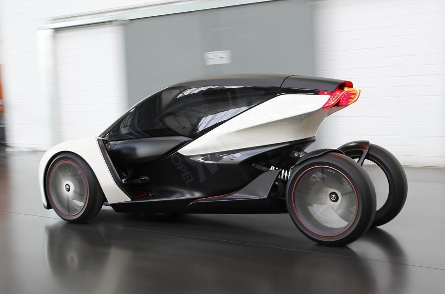 Opel Rak-e rear
