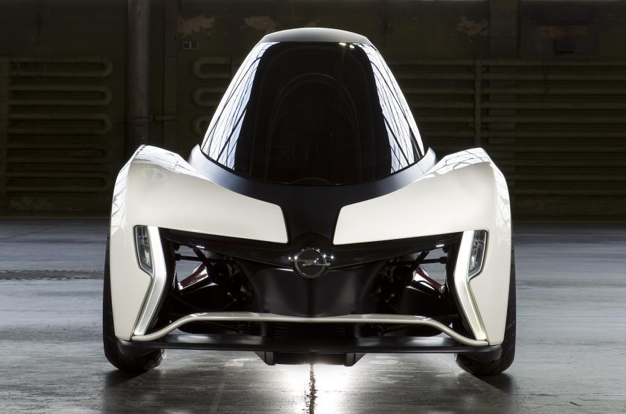 Opel Rak-e front end