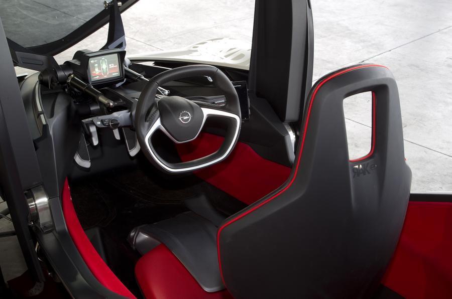 Opel Rak-e interior