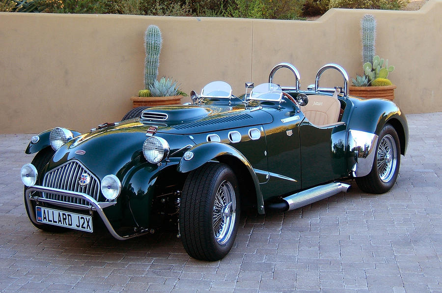 New Allard sports car ready to go