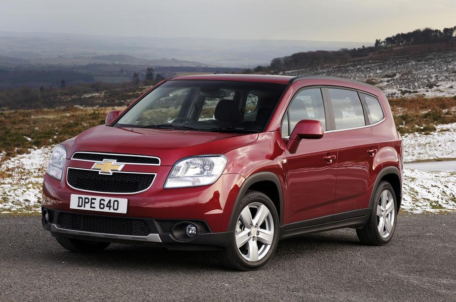 £18,645 Chevrolet Orlando