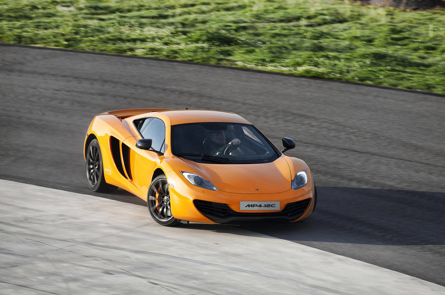McLaren MP4-12C drifting