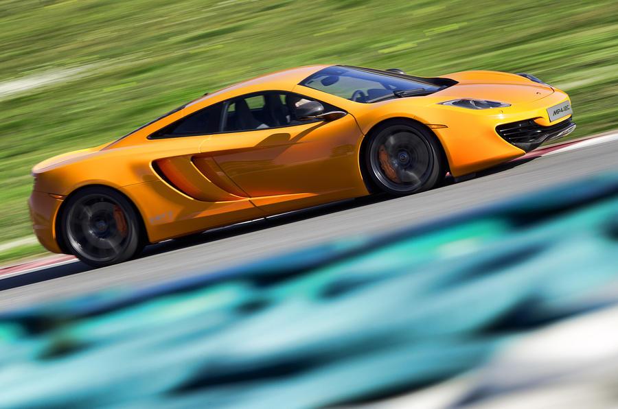 McLaren MP4-12C side profile