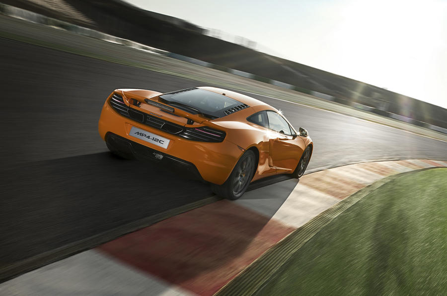 McLaren MP4-12C rear