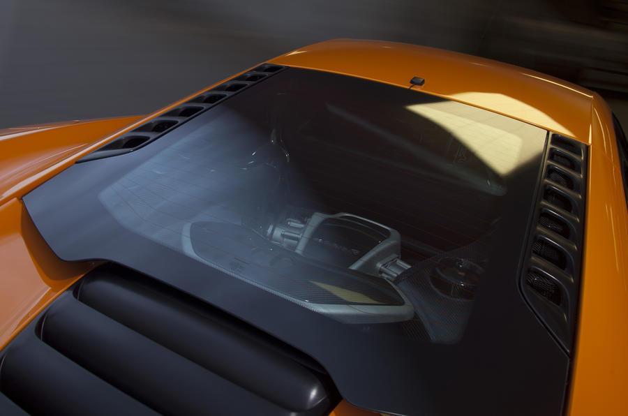 McLaren MP4-12C engine cover