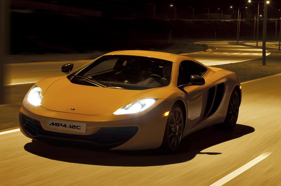 £168,500 McLaren MP4-12C