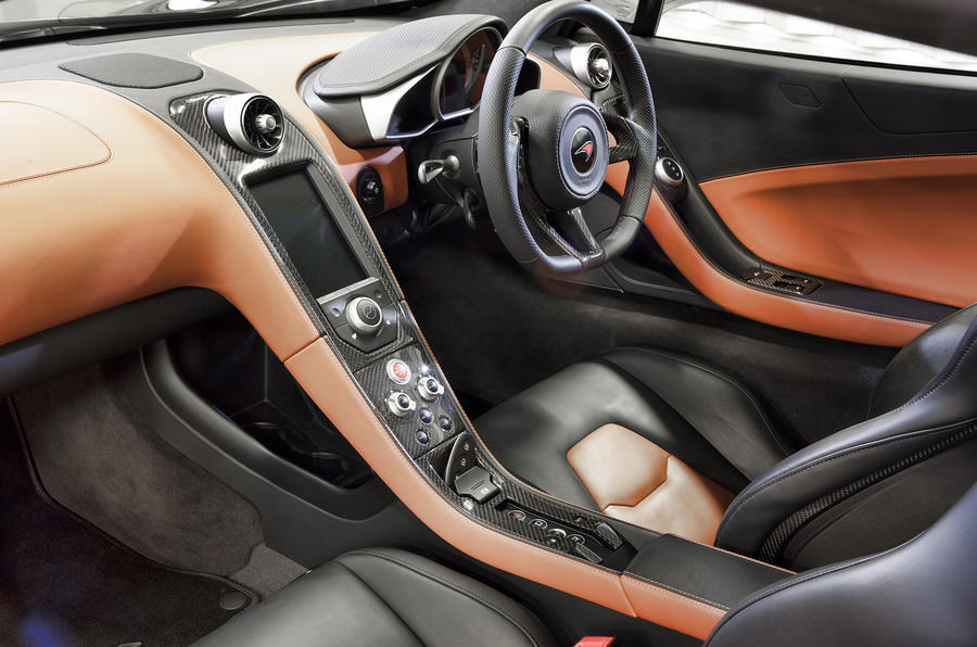 McLaren MP4-12C dashboard