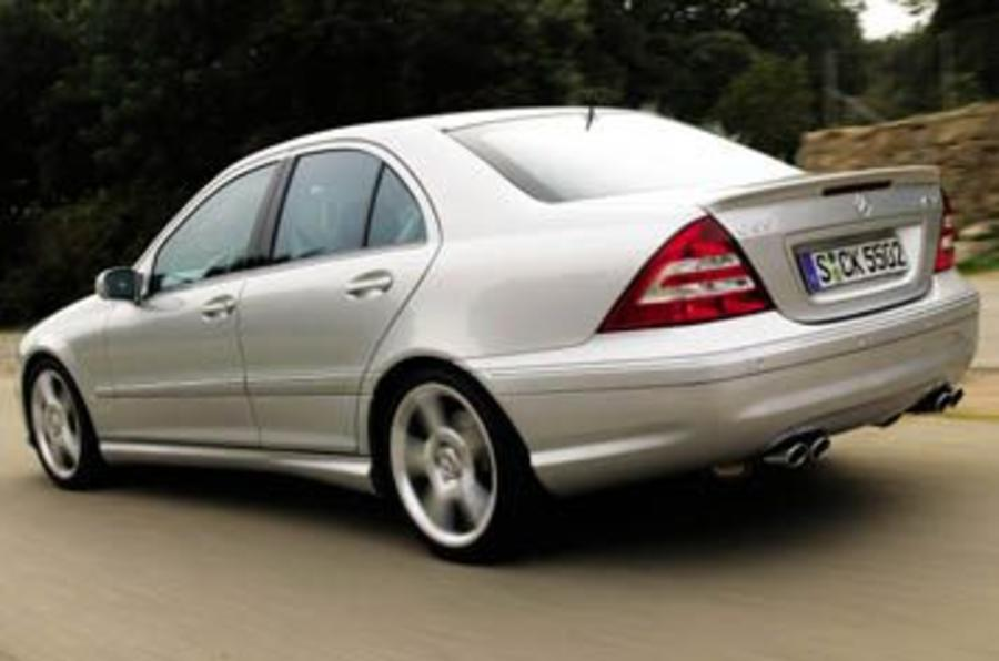 mercedes c55 amg review autocar. Black Bedroom Furniture Sets. Home Design Ideas