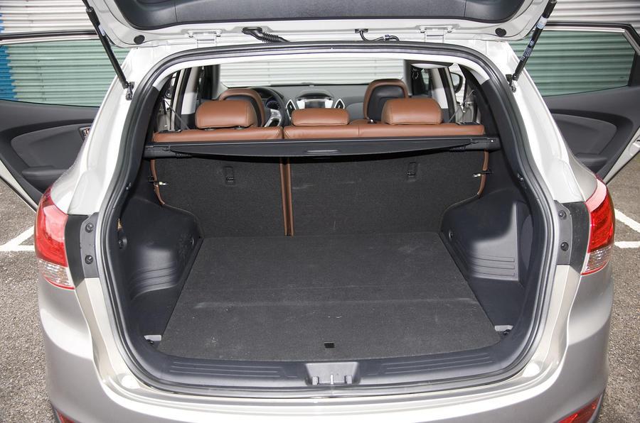 Hyundai ix35 boot space